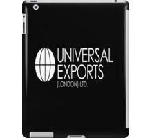 Universal Exports James Bond 007 dark background iPad Case/Skin