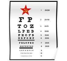 Campaign Memories: Sarah Palin's Eye Chart Poster