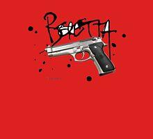 Beretta Hand Gun - Black Script Unisex T-Shirt