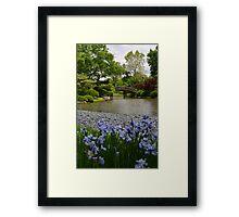 Spring in a Japanese Garden Framed Print
