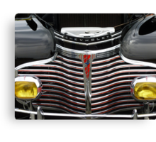 1941 CHEVROLET GRILL Canvas Print