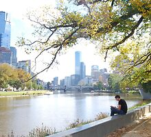 Basking in Melbourne by Lana Callaby