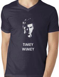Timey Wimey Mens V-Neck T-Shirt