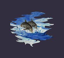 Dolphins at Sea T-Shirt Version Unisex T-Shirt