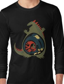 Monster Food Chain Long Sleeve T-Shirt