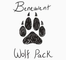 Benevolent Wolf Pack Black by MoscoMoon