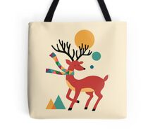 Deer Autumn Tote Bag