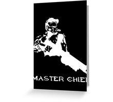 Master Chief Greeting Card