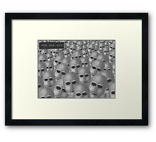 Odd One Out Framed Print