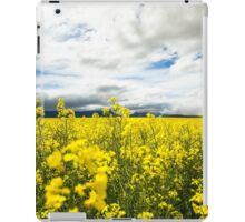 Fields of yellow iPad Case/Skin