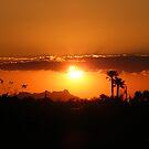 Brilliant Orange Sunset Cloud by Jonathon Wuehler