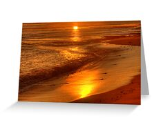All That Glitters - Long Reef, Sydney - The HDR Experience Greeting Card