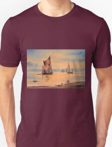 River Thames At Greenwich London T-Shirt