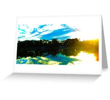 The Beauty Of Reflection Greeting Card