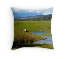 Tas, Countryside Throw Pillow