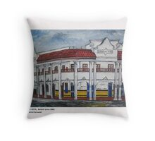 WILKINSON'S HOTEL MACKAY, NTH QLD Throw Pillow