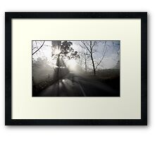 ~ A Road in the Hills ~ Framed Print