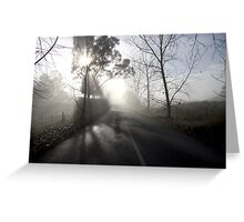 ~ A Road in the Hills ~ Greeting Card