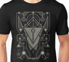 Abstract Line Art Animal Unisex T-Shirt