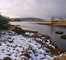 Winter at 3 Mile Dam by Ian Fegent