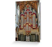Grote Kerk Greeting Card
