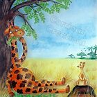 Cedric the Giraffe - Illustration 1 by Corrina Holyoake