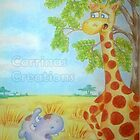 Cedric the Giraffe - Illustration 6 by Corrina Holyoake