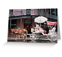 New Orleans Morning  Greeting Card