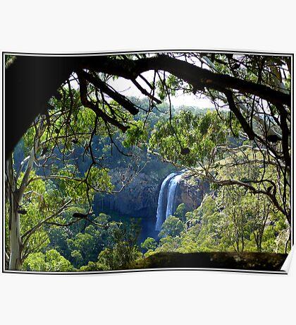 Lower Ebor Falls    --- NSW  Australia Poster