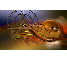 The flow of the time Photographic Print