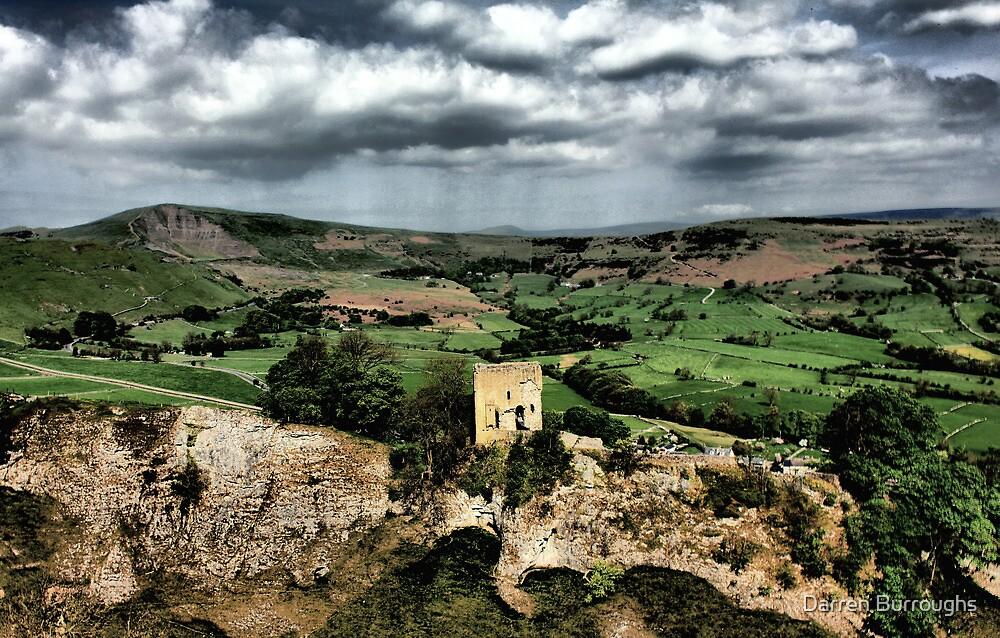 Peveril Castle, Mam Tor, Hope Valley. by Darren Burroughs