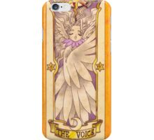 "Clow card ""The Voice"" iPhone Case/Skin"