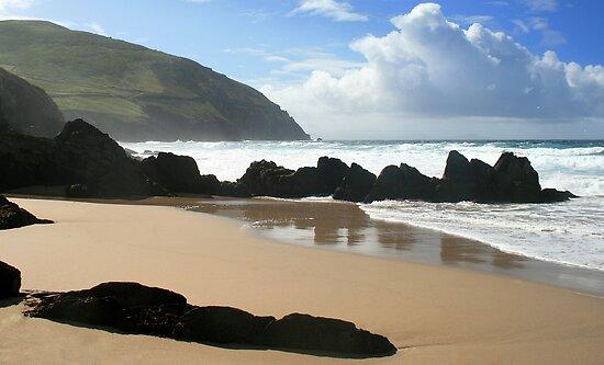 Coumeenole Beach, Dingle Peninsula, Ireland by CliveOnBeara