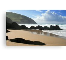 Coumeenole Beach, Dingle Peninsula, Ireland Canvas Print