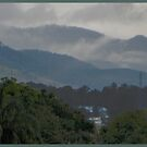 Gympie Town and it's Surrounding Hills by Burnie