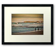 North Wollongong Framed Print