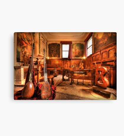 The Stringmaker's Workshop Canvas Print