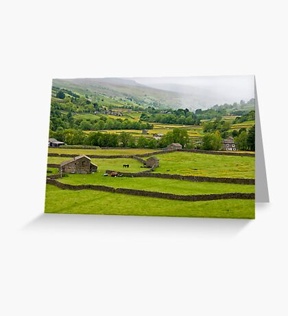 Mist in the Dales Greeting Card