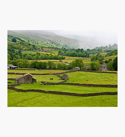 Mist in the Dales Photographic Print