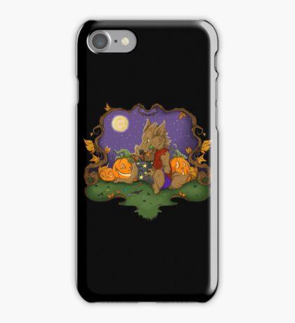 Werewolf Halloween  iPhone Case/Skin