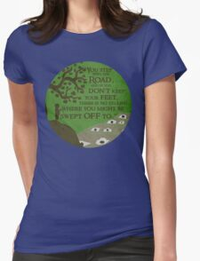 New adventure Womens Fitted T-Shirt