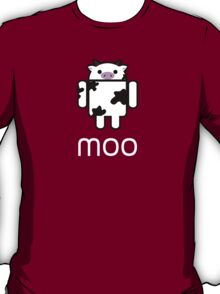 Droidarmy: Who let the cows out? T-Shirt