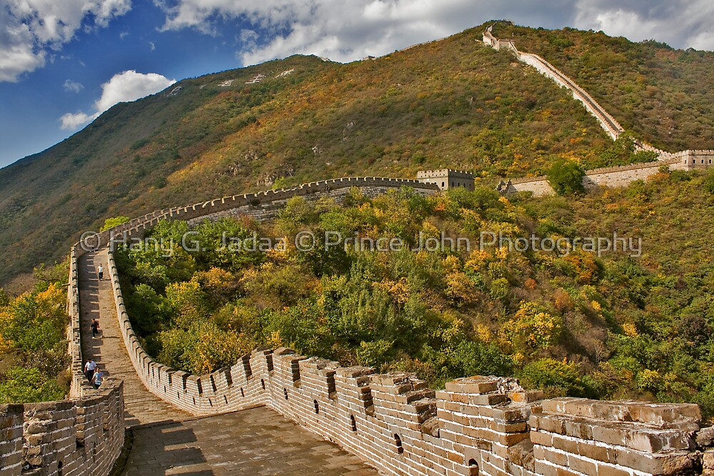 The Great Wall Series - at Mutianyu #2 by © Hany G. Jadaa © Prince John Photography