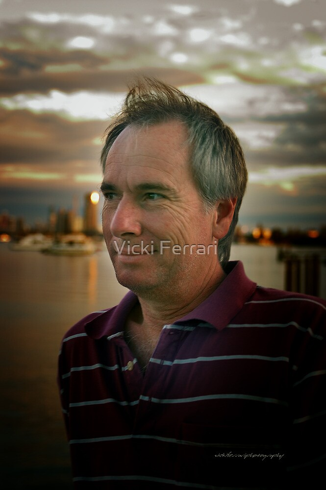 Male Portrait © Vicki Ferrari Photography by Vicki Ferrari