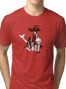 Deep Sea Prisoner - Sal and Wadanohara Tri-blend T-Shirt