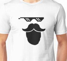 Thug Mustache Unisex T-Shirt