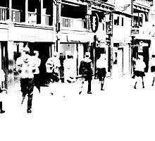 Street Scene - Chester, UK by Alison McLean