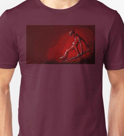 Barefoot Swordsman Unisex T-Shirt