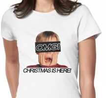 Christmas is here! Womens Fitted T-Shirt