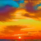 Tie Dye Sky by Scott Evers